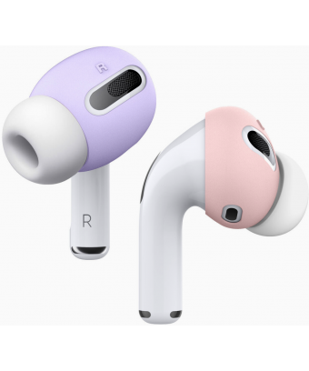 Couvre-embouts AirPods Pro - en Lavender & pink - open