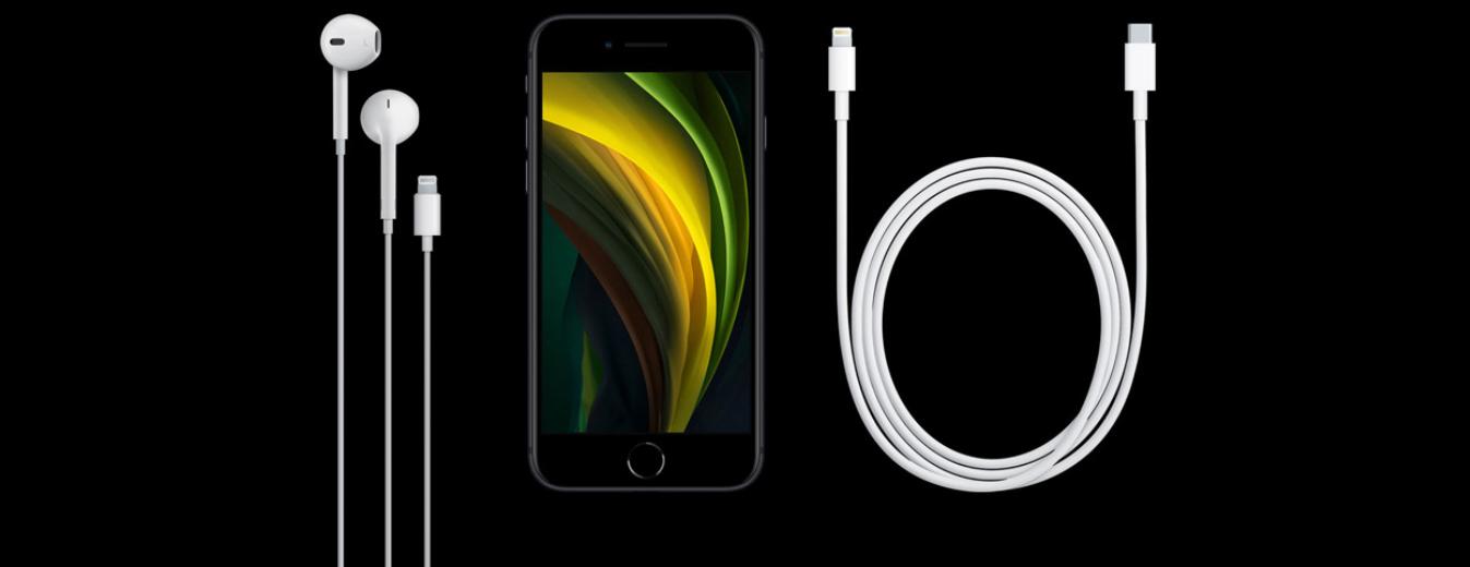 Contenu du coffret de l'iPhone SE