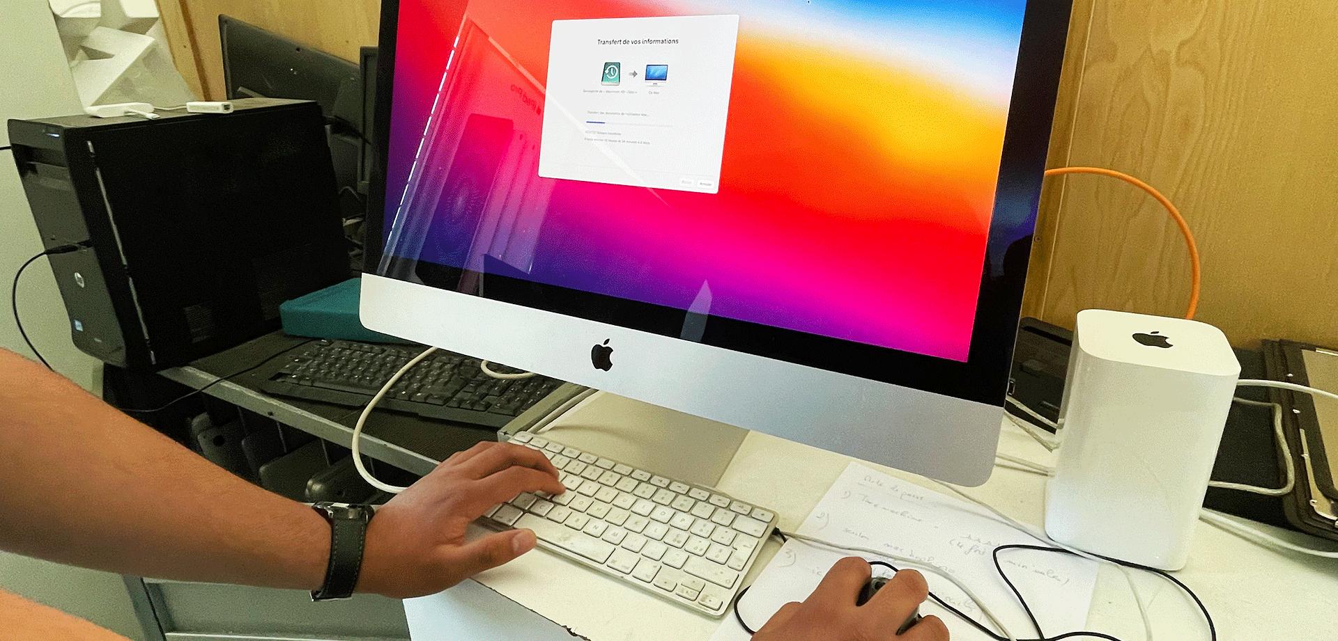 reparation des iMac