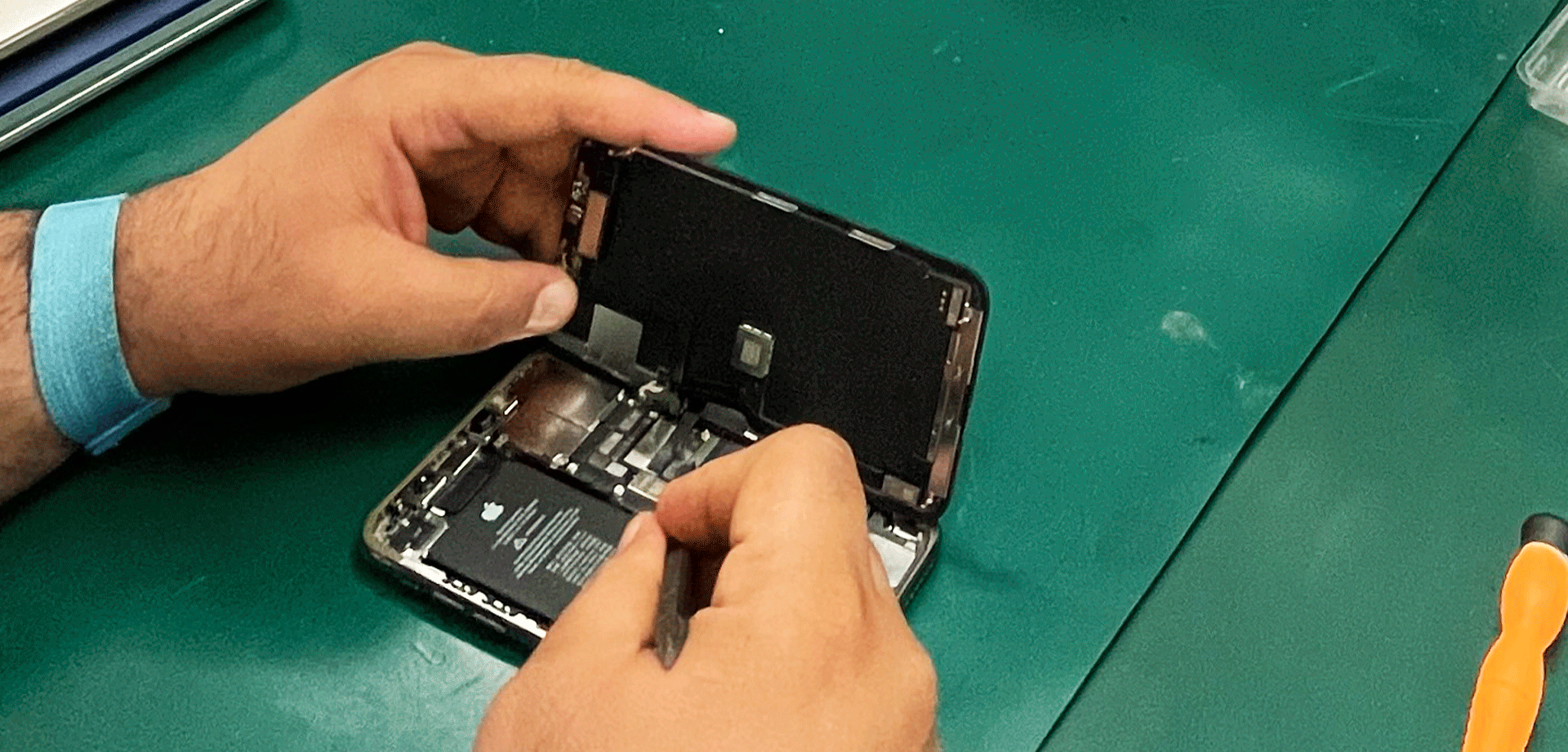 reparation de l'iPhone